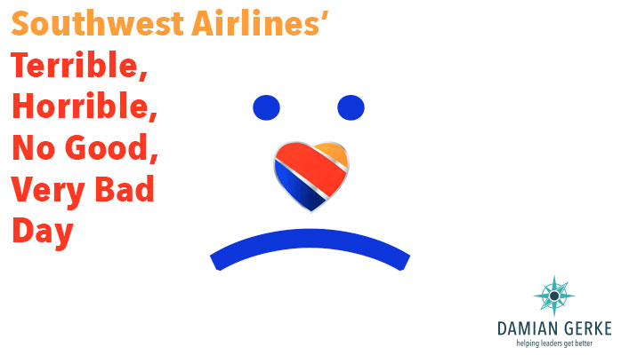 Southwest Airlines had a bad day recently
